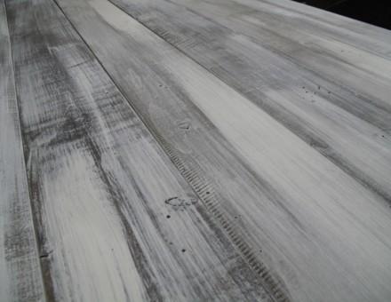 エイジングホワイト(トップコートレス) 二方向ホンザネ加工品