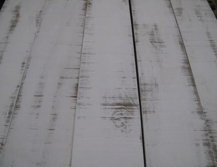 ロンハーマンホワイト ベース色を変えトップのオフホワイトをランダム塗装仕上