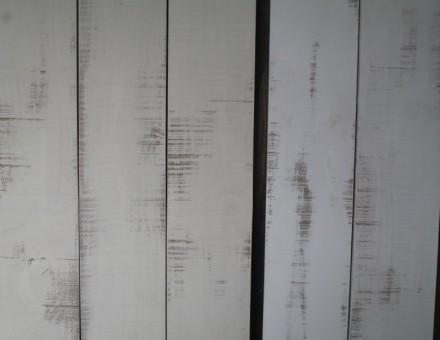 ロンハーマンホワイトの基本色はオフホワイト仕様(13-25)左 ホワイト仕様2-1/1301(Shading White)右