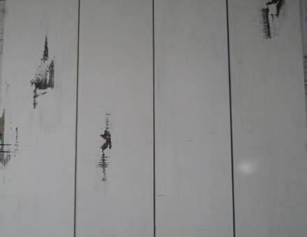 Fake Vintage Wood(不燃加工材) ジャンクホワイト (T)20 x (W)130-135 x (L)2000