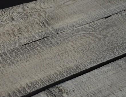 不燃古材の表面をホワイト仕上(ミルクペイント塗装) (国土交通大臣認定 不燃材料認定番号 NM-0750)