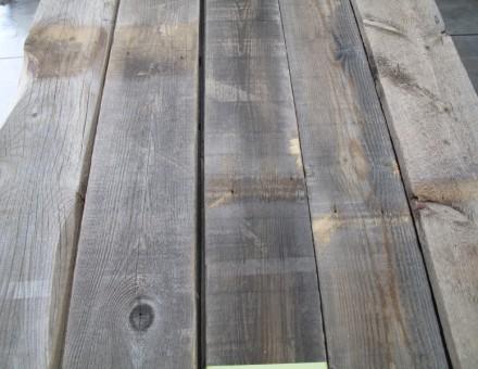 不燃注入を完了した古材フェンスウッド (国土交通大臣認定 不燃材料認定番号 NM-0750)