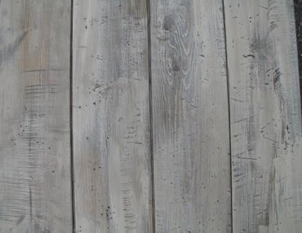 Fake Vintage Wood(不燃加工材) エイジングホワイト (T)20 x (W)130-135 x (L)2000