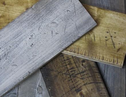 Fake Vintage Wood古材風仕上材(不燃パイン材) 基本3色 (T)20 x (W)135 x (L)2000 : ¥5130/枚(¥19000/m2) (国土交通大臣認定 不燃材料認定番号 NM-0750)