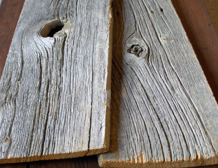 このような深い木肌はレアになっています。