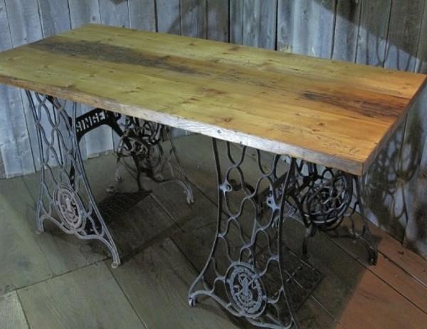 アメリカ古材のツーバイボード仕様のテーブルトップサムネイル