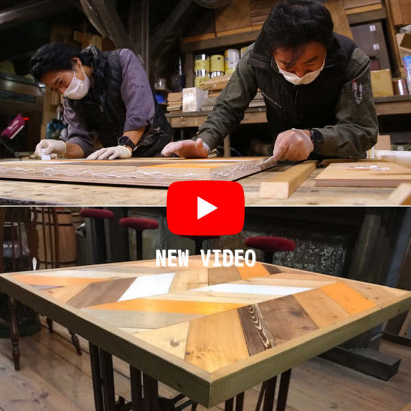 YouTube!モザイク天板製作の方法を紹介サムネイル