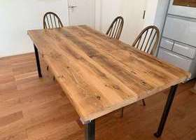 ブレットジャパンの古材テーブル天板