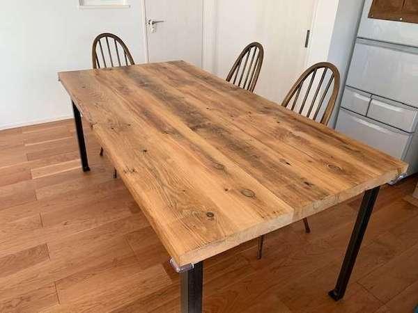 ブレットジャパンの古材テーブル天板サムネイル
